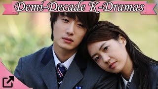 Top 20  Korean Dramas 2010  to 2015