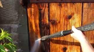 getlinkyoutube.com-Strukturyzacja drewna czyli jak prosto i tanio postarzyć drewno