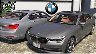 getlinkyoutube.com-GTA V Mods - BMW 750Li
