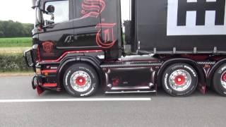getlinkyoutube.com-Scania R620 V8 schubert  bij truckstar festival, met zijn nieuwe outlook