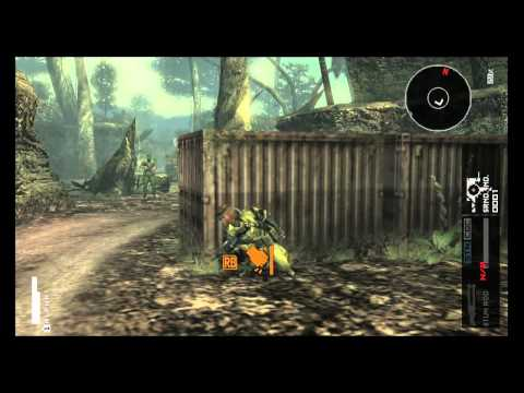Metal Gear Solid Peace Walker HD EDITION 360version Gameplay