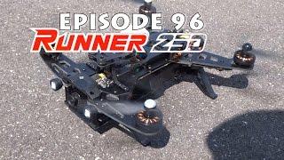 Walkera Runner 250 vs x350 Pro the race comparison