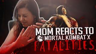 getlinkyoutube.com-MY MOM REACTS TO FATALITIES!!