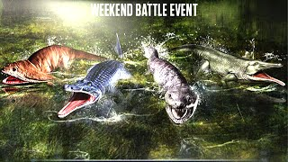 getlinkyoutube.com-Jurassic World™ The Game: AMPHIBIANS Week Battle