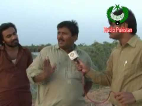 Sindh Flood - Affected Crops In Tandu Ala Yaar (Report) 2011.flv
