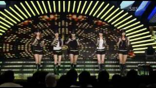 Wonder Girls - Nobody Remix on OYAG Festival (2008-12-29)