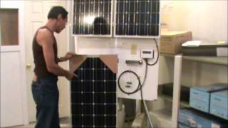 getlinkyoutube.com-Missouri Wind and Solar How to build a 200 watt solar panel kit  DIY