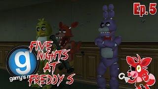 getlinkyoutube.com-Five Nights at Garry's Mod - Horror di Gruppo - #5 : Nel Ruolo dei Mostri!