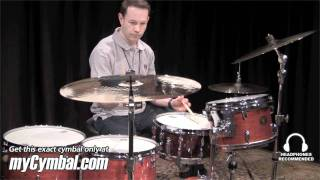 "getlinkyoutube.com-Zildjian 22"" Rarities K Dark Thin Ride Cymbal - Played by Paul Francis (K0874-1060711D)"