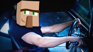 getlinkyoutube.com-НОСАТЫЙ ЗА РУЛЕМ - Minecraft (Мини-Игра)