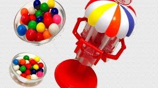getlinkyoutube.com-Geoffrey's Gumball Machine where Learning Colors is yummy & fun | itsplaytime612
