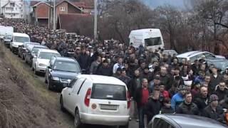 Dženaza, rahmetli Ahmedin Demirović 18.01.2013, RTV