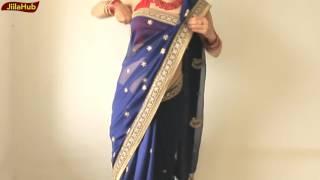 getlinkyoutube.com-How To Wear Sari Perfectly In Simple Steps:2 Stylist Saree Draping Way(JiilaHub Very Easy)