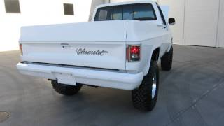 getlinkyoutube.com-1984 Chevrolet K10 4X4 Frame off Restored 355ci A/C for sale Scottsdale AZ Joey 480-205-5880