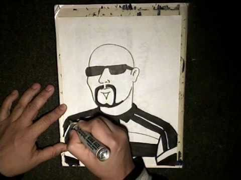 how to draw a gangster cholo  - (Chicano Rap Instrumental) cypress Hills (Superstar)