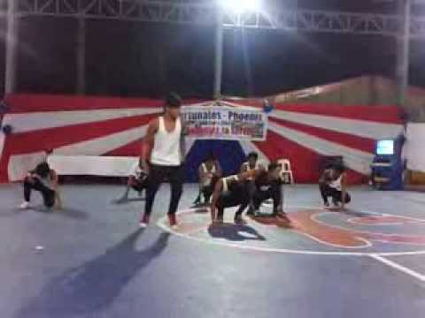 Hyper Dance Crew '' Guesting in San Pascual '' (Funny Accident)