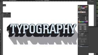 getlinkyoutube.com-Tutorial: How to Make 3D Typography Templates in Adobe Illustrator