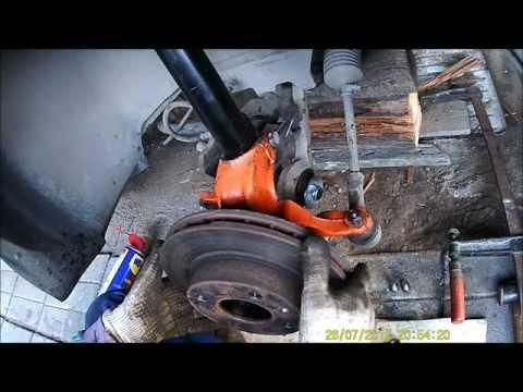 Часть13. Сборка передней подвески Ford Sierra.
