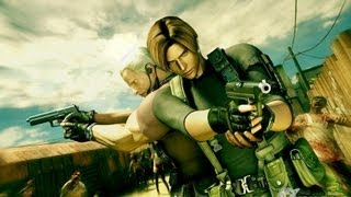 getlinkyoutube.com-Resident Evil Darkside Chronicles Leon e Krauser Parte 1 HD Full 720p