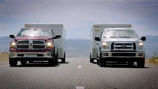 getlinkyoutube.com-2015 Ford F-150 towing test VS. Ram 1500 & Chevy Silverado