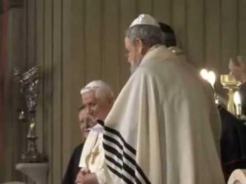 Papa Bento XVI visita Igreja Luterana.