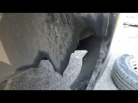 Ремонт бампера і підкрильника на Peugeot Expert