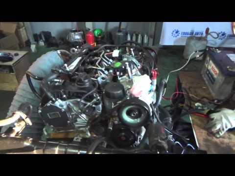 Проверка давления масла в двигателе D20DTF Евро 5 - 671950 02595543 Korando C, New Actyon