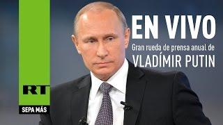 Gran rueda de prensa anual de Vladímir Putin (2015) - Versión completa