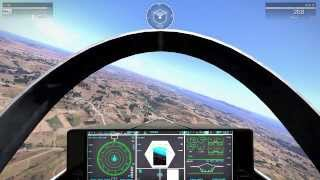 getlinkyoutube.com-ArmA 3: Flying with F-35 over Altis with 25km view distance!
