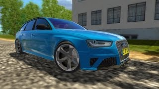 getlinkyoutube.com-City Car Driving Audi RS4 Avant 2012 + Downloadlink [HD]