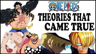 Top 5 One Piece Theories That Actually Came True | Ch. 846+