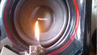 getlinkyoutube.com-Philips SPA5300 vs. ZIPPO - Bass I Love You