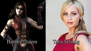 Characters and Voice Actors - Injustice: Gods Among Us Ultimate Edition