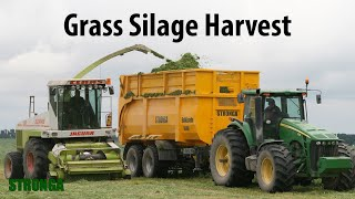Stronga BulkLoada 660 agricultural trailer - Efficient grass silage harvest