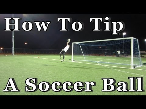 Goalkeeper Training: How to Tip a Soccer Ball