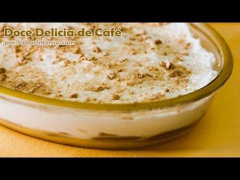 Receita de Doce Delícia de Café