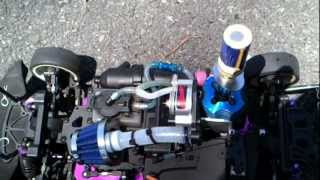 getlinkyoutube.com-RC Nitro Supercharger Redcat , Sonic 1/10 Scale ( Part 1 ).