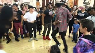 getlinkyoutube.com-Les Twins LA After Party - The Hug