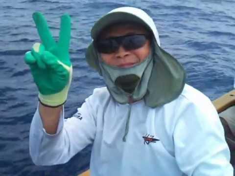 2013年4月30日 Thomas Lai 釣大青斑25斤