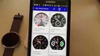 getlinkyoutube.com-How to turn your Moto 360 Smartwatch into a Designer Watch