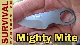 getlinkyoutube.com-Best Survival Kit Knife? - Schrade SCHCC1 - Money Clip Knife