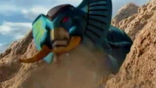 getlinkyoutube.com-Power Ranger Fuerza Salvaje | Elephant Zord
