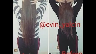 getlinkyoutube.com-HOW TO GROW YOUR HAIR OVERNIGHT (2 INCHES IN 16 HOURS!) | Evin Yalcin