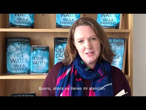 Escrito en el agua, la nueva novela de Paula Hawkins, ya en librerías mexicanas.