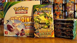 getlinkyoutube.com-Pokemon Roaring Skies Booster Box Opening Pt. 2