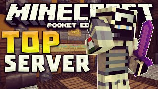 getlinkyoutube.com-SERVERS PARA MINECRAFT PE 0.17.0 - Spleef, Build Battle, Skywars ,TNT Run