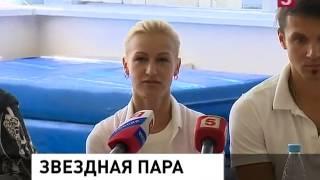 getlinkyoutube.com-Tatiana Volosozhar & Maxim Trankov -  RU Channel5 open training coverage