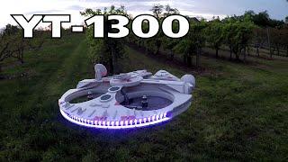 getlinkyoutube.com-RC Millennium Falcon mk.II - YT-1300