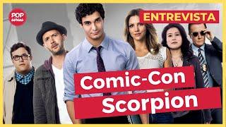 SDCC 2015: entrevista com Elyes Gabel e Katharine McPhee de Scorpion