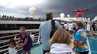 getlinkyoutube.com-Carnival Legend crashes into Royal Caribbean Enchantment of the Seas Part 1 Cruise Ships Crash